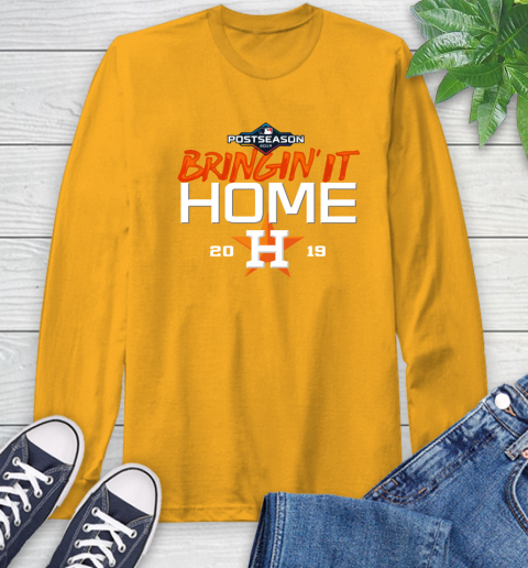 Bringing It Home Astros Long Sleeve T-Shirt 2