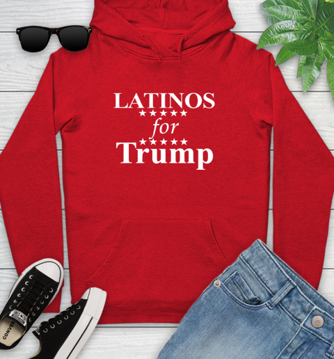 Latinos For Trump Youth Hoodie 12
