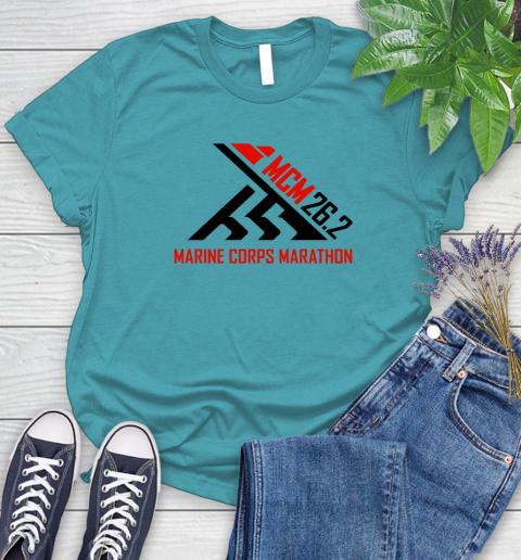 2018 Marine Corps Marathon Women's T-Shirt 11