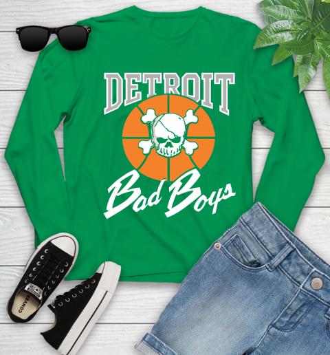 Detroit Bad Boys Youth Long Sleeve 7