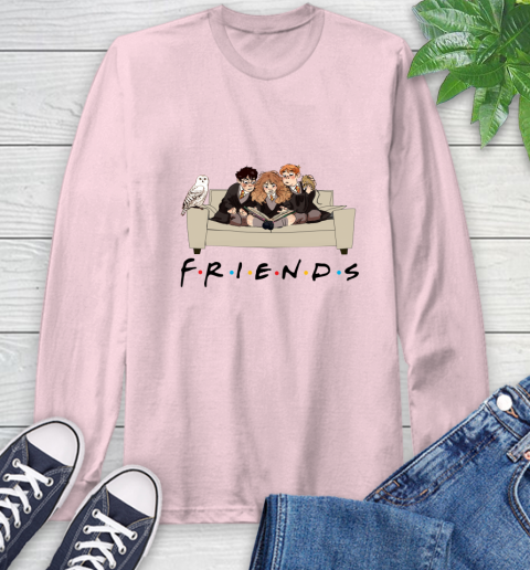 Harry Potter Ron And Hermione Friends Shirt Long Sleeve T-Shirt 8
