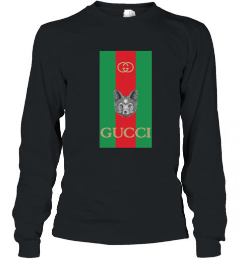Gucci Logo Wolf Youth Long Sleeve T-Shirt