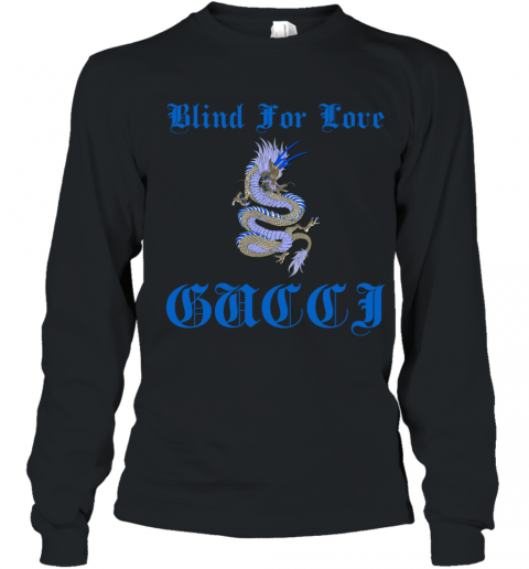 Gucci Blind For Love Youth Long Sleeve T-Shirt