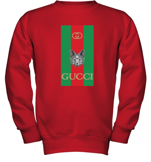 Gucci Logo Wolf Youth Sweatshirt
