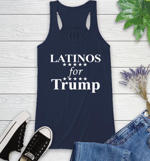 Latinos For Trump Racerback Tank 9