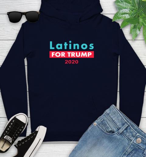 Latinos Trump 2020 Youth Hoodie 4