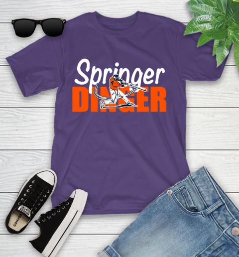 Houston Springer Dinger Fan Shirt Youth T-Shirt 3
