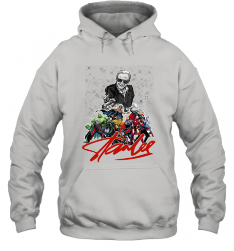 Stan Lee Thanks for the Memories Super Hero Marvel Hoodie