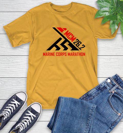2018 Marine Corps Marathon T-Shirt 2