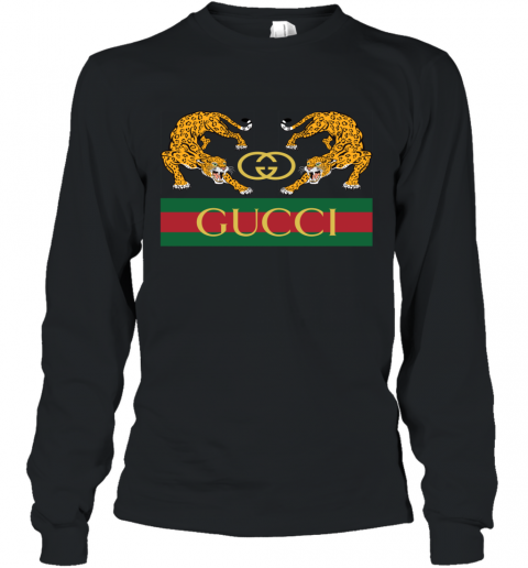 Gucci Jaguar Gucci Polo Long Sleeve T-Shirt