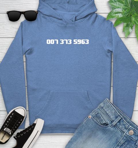 007 373 shirt Youth Hoodie 13