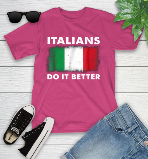 Italians Do It Better Youth T-Shirt 11