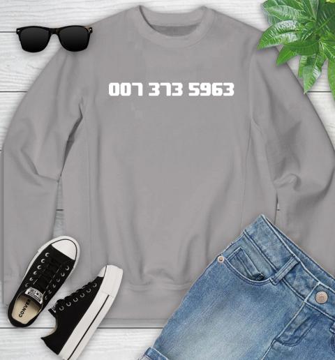 007 373 shirt Youth Sweatshirt 3