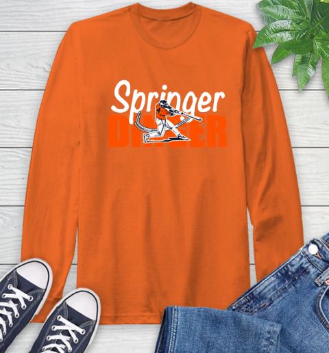 Houston Springer Dinger Fan Shirt Long Sleeve T-Shirt 4
