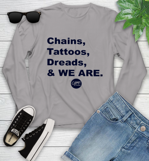 Penn State Chains Tattoos Dreads And We Are Youth Long Sleeve 3