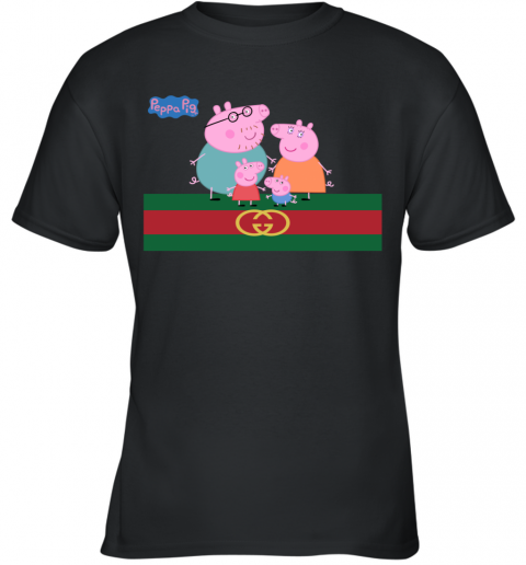 Peppa Pig Gucci Family Limited Youth T-Shirt