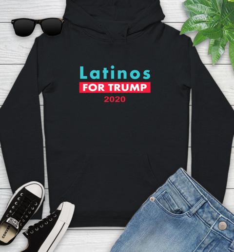 Latinos Trump 2020 Youth Hoodie 2