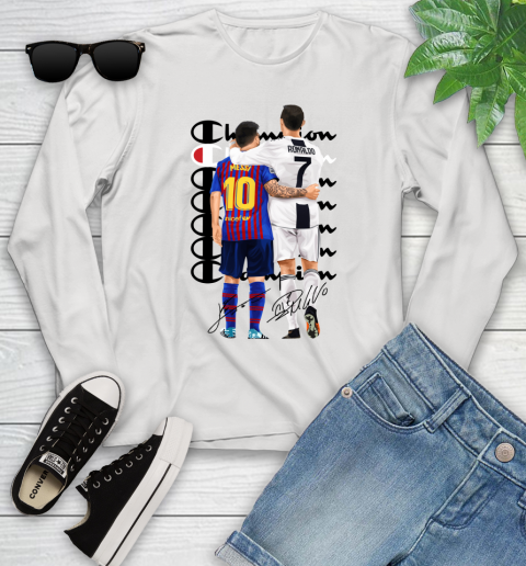 Champion Ronaldo and Messi Signatures Youth Long Sleeve