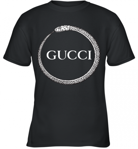Gucci Ouroboros Print Youth T-Shirt