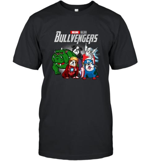 Marvel Avengers Endgame Bulldog Bull Avengers shirt T-Shirt