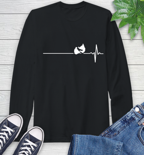Aikido This Is How My Heart Beats Long Sleeve T Shirt