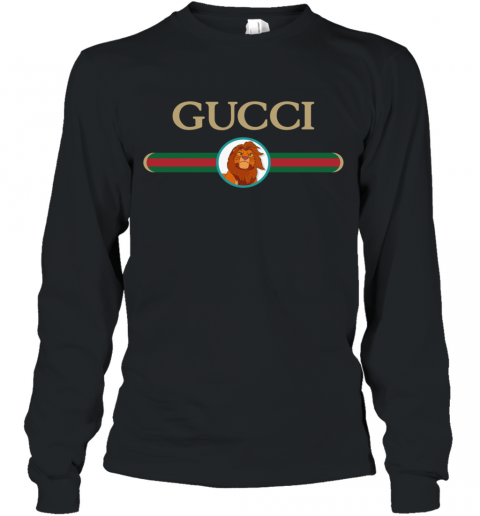 Lion King Simba Gucci Long Sleeve T-Shirt
