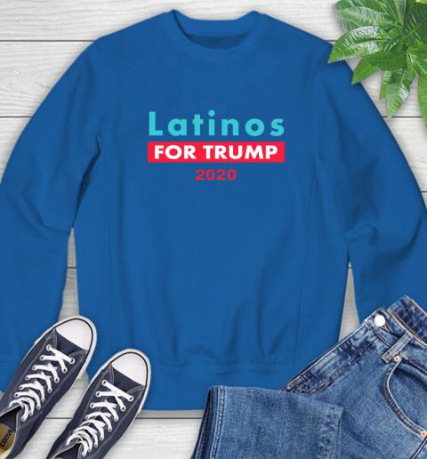 Latinos Trump 2020 Sweatshirt 8