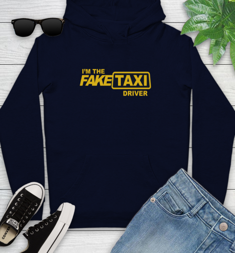 I am the Fake taxi driver Youth Hoodie 4
