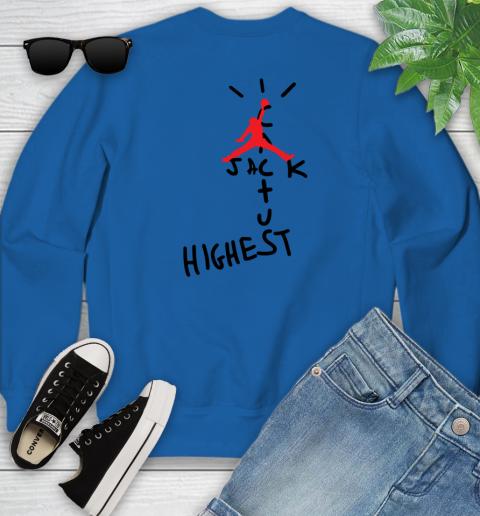 Travis Scott Cactus Jack Jordan Highest Youth Sweatshirt 9