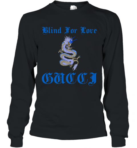 Gucci Blind For Love Long Sleeve T-Shirt