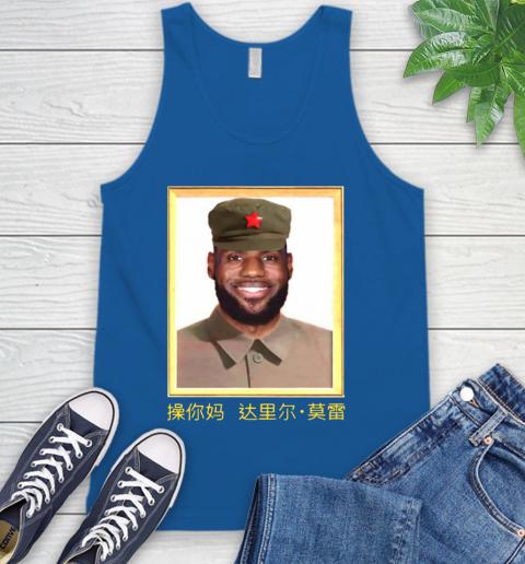 Barstool Lebron James China Tank Top 4