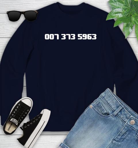 007 373 shirt Youth Sweatshirt 2