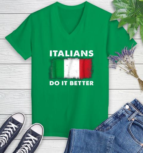 Italians Do It Better Women's V-Neck T-Shirt 5