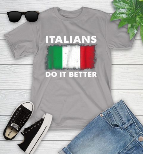 Italians Do It Better Youth T-Shirt 4