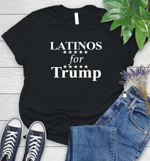 Latinos For Trump Women's T-Shirt