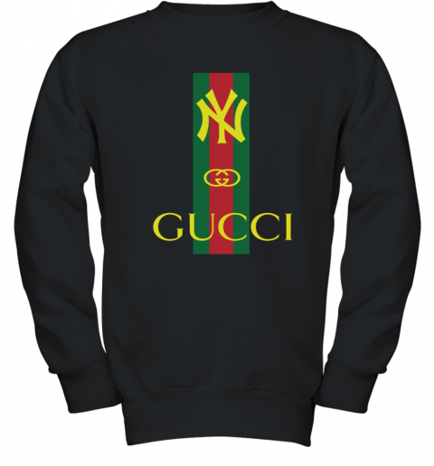 Gucci Logo New York Yankees Youth Sweatshirt