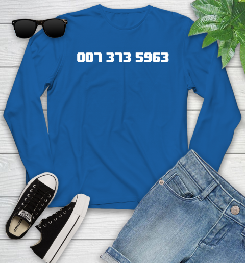 007 373 shirt Youth Long Sleeve 10