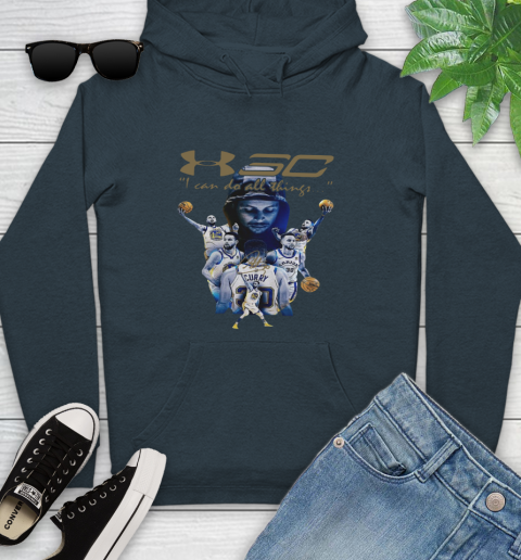 Stephen Curry I Can Do All Things Signature Youth Hoodie 10