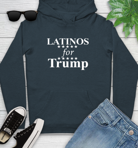 Latinos For Trump Youth Hoodie 10