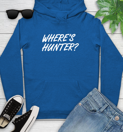 Where Is Hunter Youth Hoodie 11