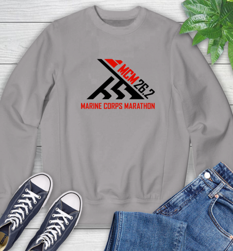 2018 Marine Corps Marathon Sweatshirt 3
