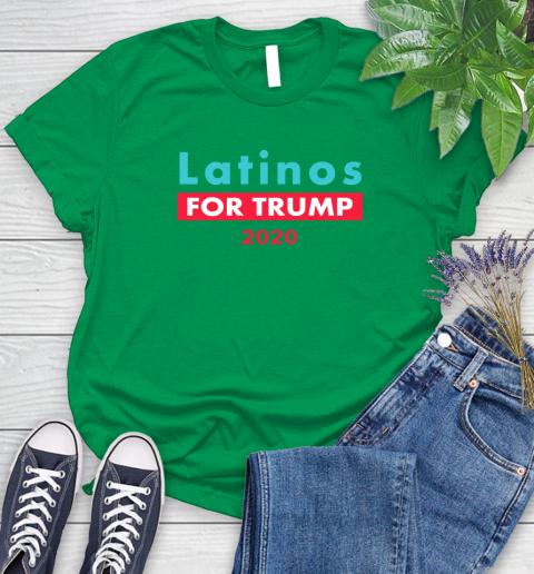 Latinos Trump 2020 Women's T-Shirt 6