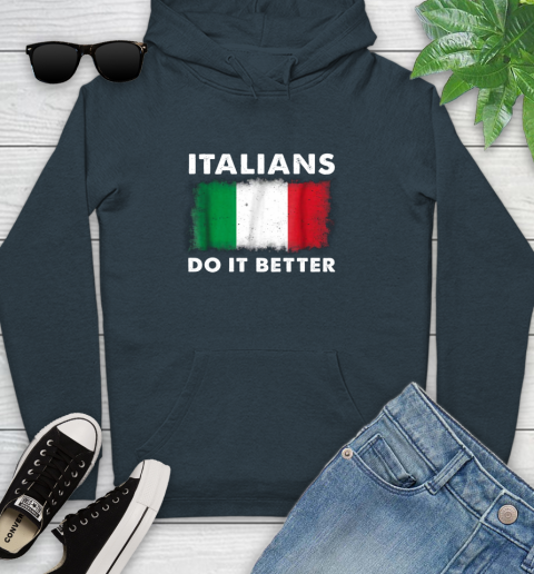 Italians Do It Better Youth Hoodie 10