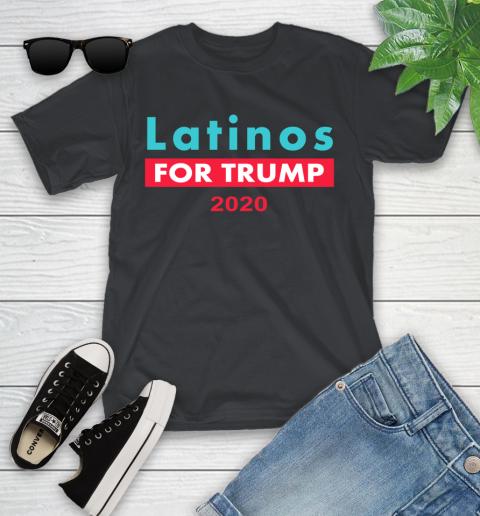 Latinos Trump 2020 Youth T-Shirt 2