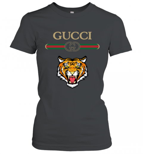 Gucci Logo With Tiger Women's T-Shirt