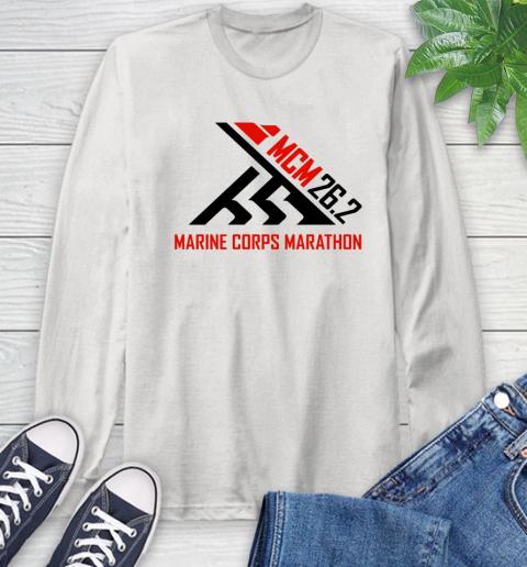 2018 Marine Corps Marathon Long Sleeve T-Shirt