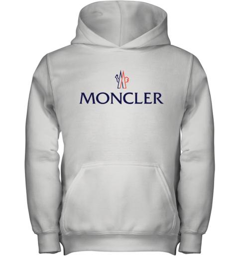 Moncler Logo Youth Hoodie