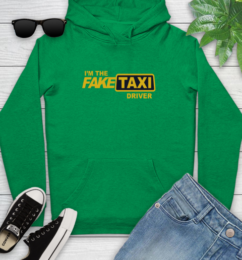 I am the Fake taxi driver Youth Hoodie 7