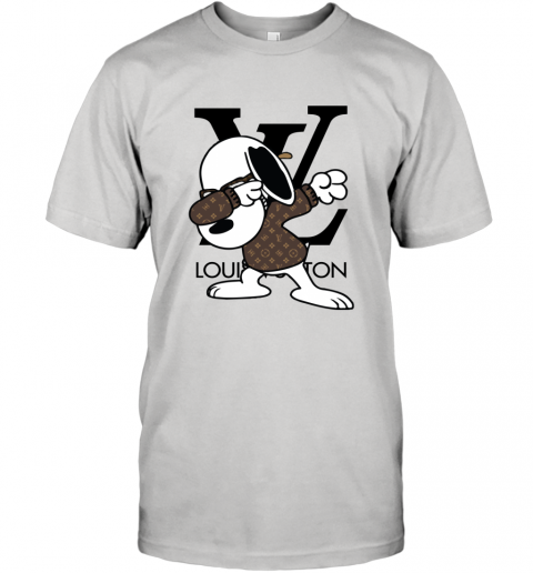 SNOOPY GUCCI x LOUIS VUITTON LOGO T-Shirt