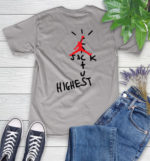 Travis Scott Cactus Jack Jordan Highest Women's T-Shirt 21